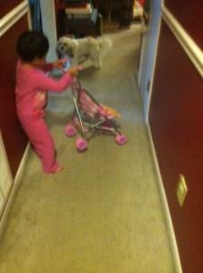 Esther baby stroller